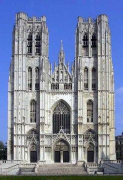 St. Gudula, Belgien
