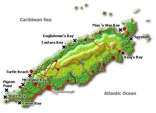 Tauchspots, Tobago, Karibik