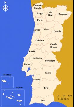 Portugal Distrikte