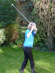 Golferin hinten