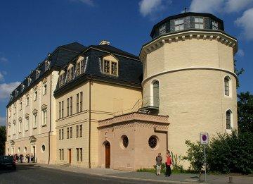Anna Amalia Bibliothek in Weimar, Thüringen, Deutschland