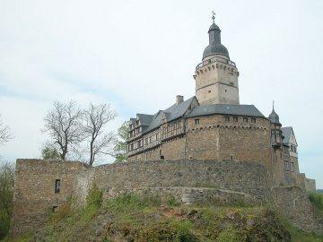Burg Falkenstein im Harz, Sachsen, Deutschland