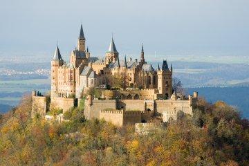 Burg Hohenzollern Baden-Württemberg, Deutschland