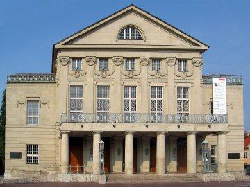 Deutsches Nationaltheater in Weimar, Thüringen, Deutschland