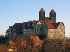 Schloss Quendlinburg, Sachsen-Anhalt, Deutschland