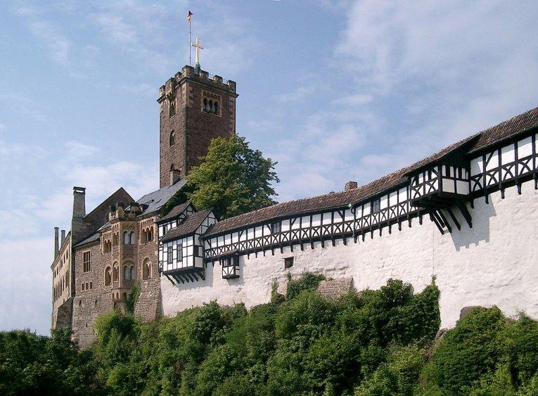 Wartburg bei Eisenach, Thüringen, Deutschland