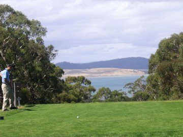 Royal Hobart Golf Club, Tasmanien