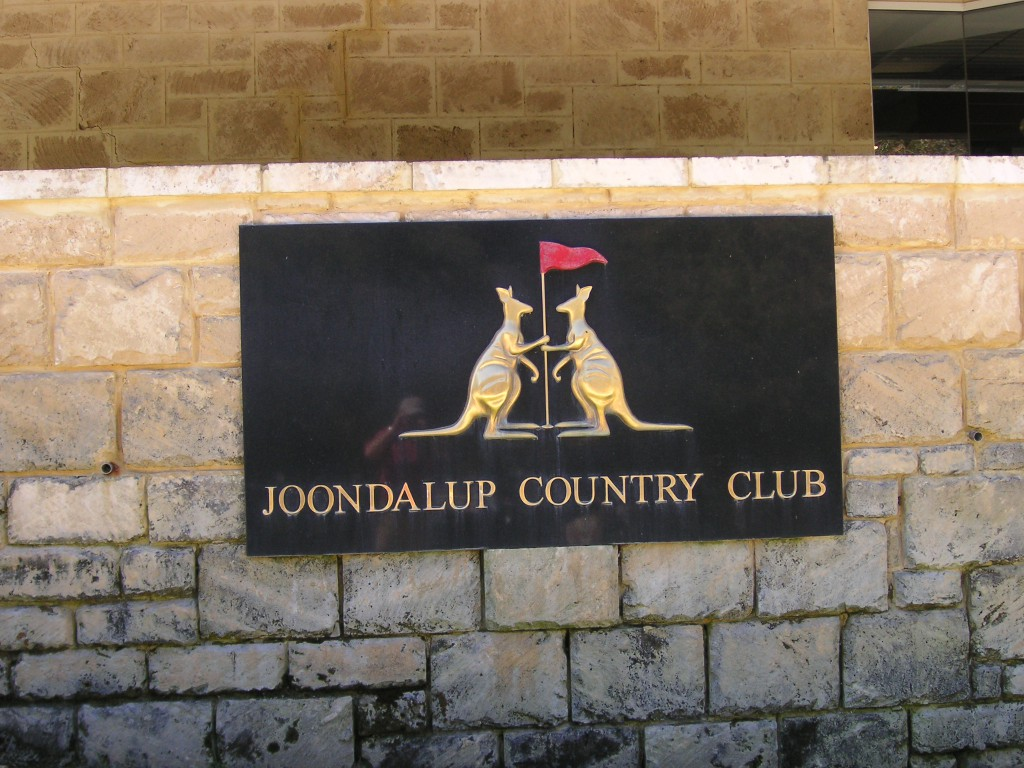 Joondalup Golf Club, West-Australien
