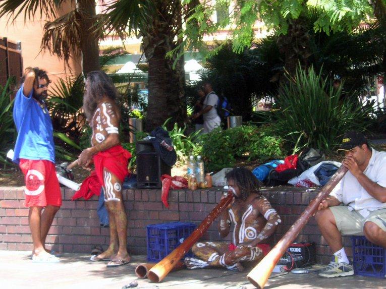 Aborigines in Sydney