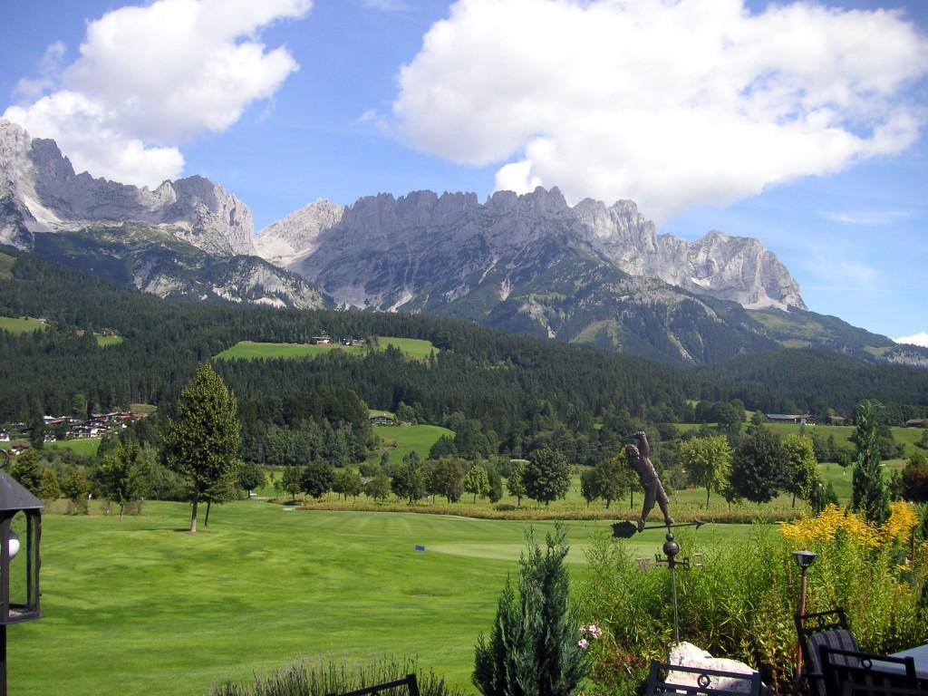 Golfplatz Kitzbühl am Wilden Kaiser
