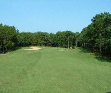 Golfplatz Sandwich, MA, USA
