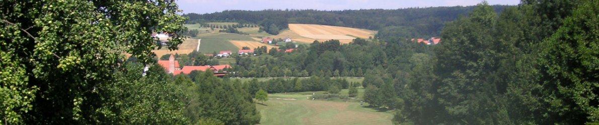 Golfplatz Uttlau, Bayern, Deutschland
