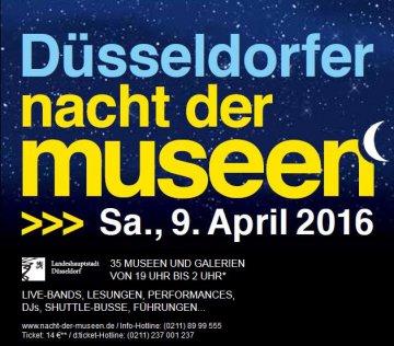 Düsseldorf - Nacht der Museen 2016
