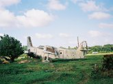 Crashed airplane, Grenada, Karibik