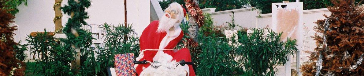Santa Claus, St. Martin, Karibik