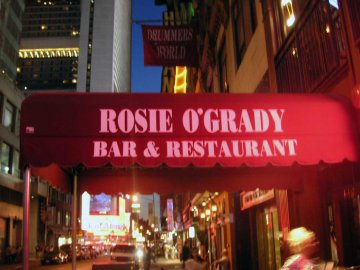 New York City, O'Grady
