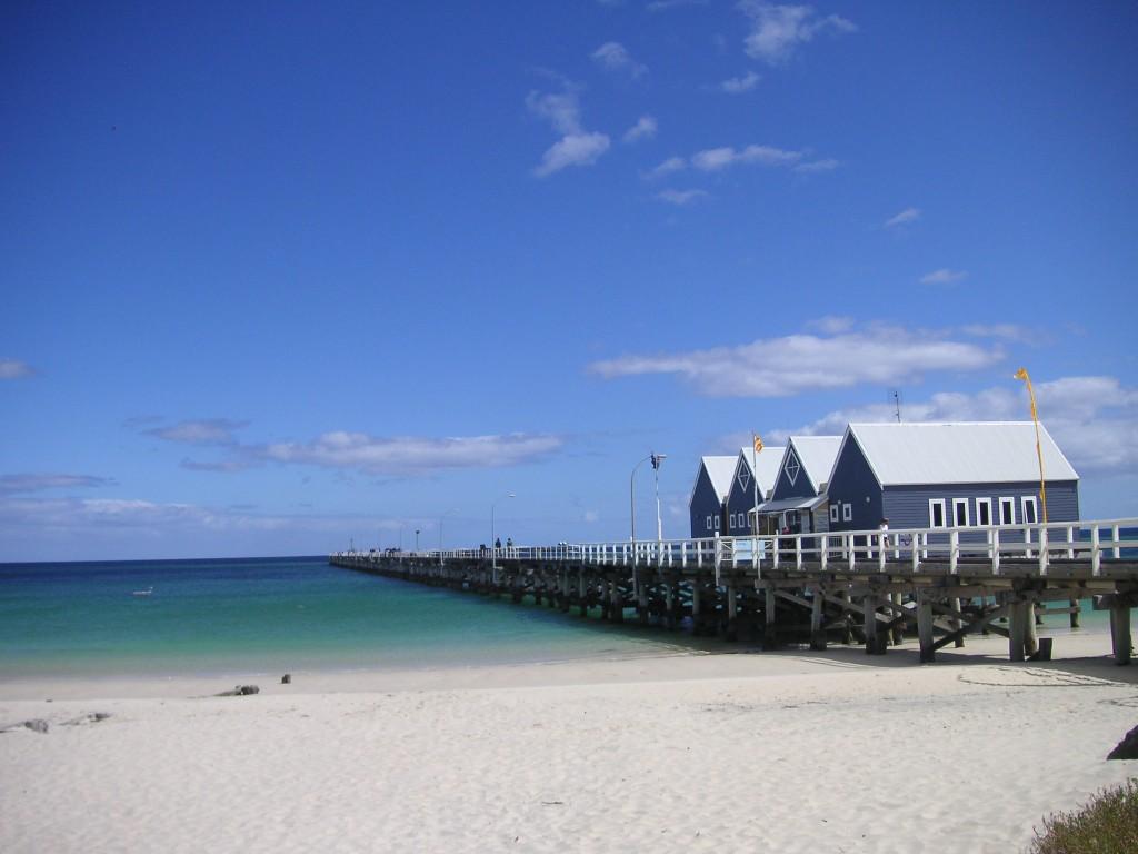 Pier in Busselton, West-Australien