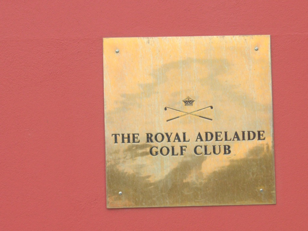 Royal Adelaide Golf Club, Australien