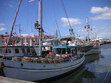 Hobart Hafen, Tasmanien