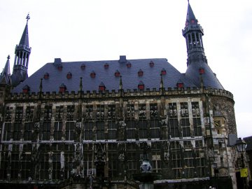 Rathhaus Aachen, Deutschland