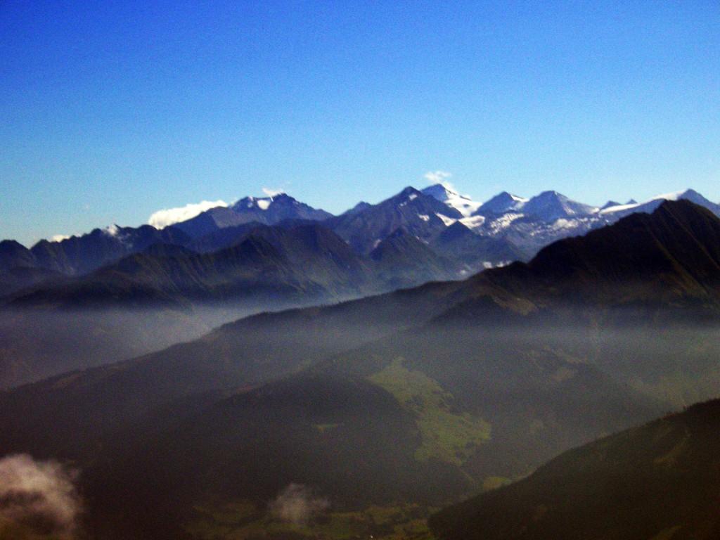Alpengipfel in Tirol, Österreich