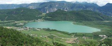 Kalterer See, Südtirol, Italien
