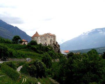 Schloss Castelbell im Vinschgau, Südtirol, Italien