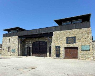 KZ Mauthausen, Oberösterreich, Österreich