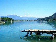 Faaker See, Kärtnen, Österreich