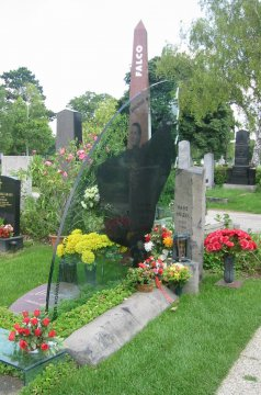 Falco Grab, Wien Zentralfriedhof, Österreich