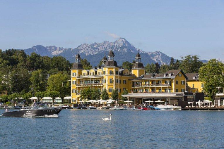 Falkensteiner Schlosshotel Velden, Kärnten, Österreich