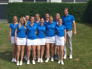 Golf Club Hubbelrath Damenmannschaft 2018