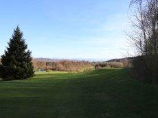 Golfclub Gut Rieden, Bayern, Am Starnberger See, Blick über Fairway