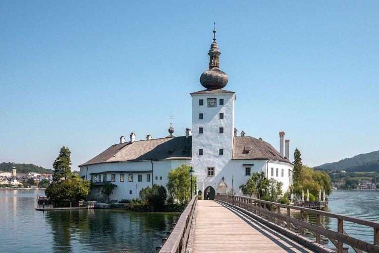 Seeschloss Orth, Oberösterreich, Österreich