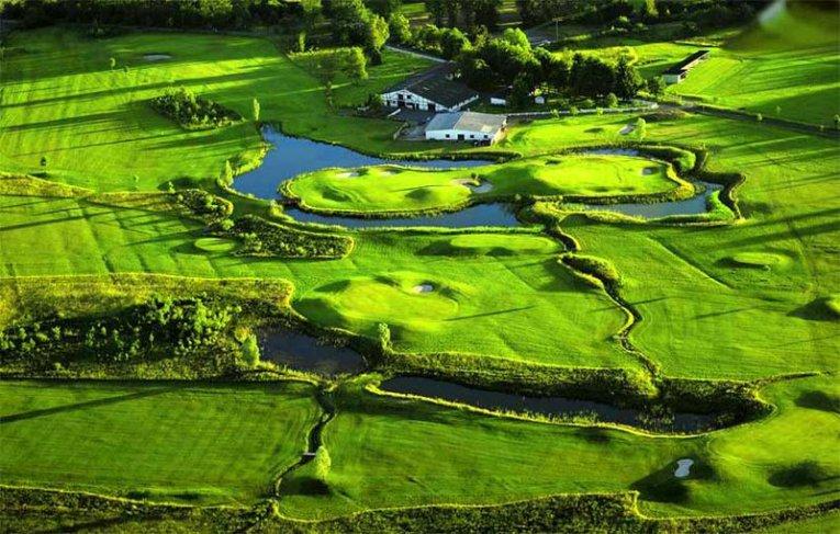 Golfclub Bostalsee, Saarland, Deutschland