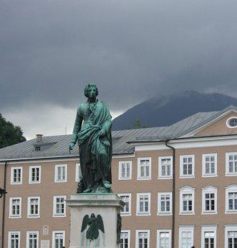 Mozart, Salzburg