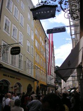 Salzburg, Innenstadt