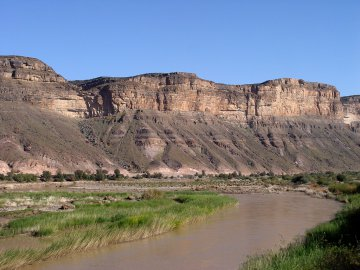 Orange River, Südafrika