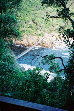 Storms River Mouth Bridge Südafrika