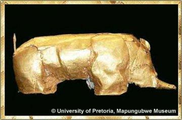 Goldenes Nashorn von Mapungubwe