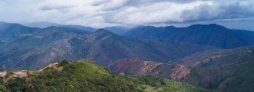 Landschaft Niquitao bei Bocono