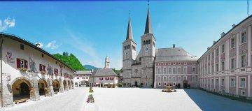 Schlossplatz-Berchtesgaden