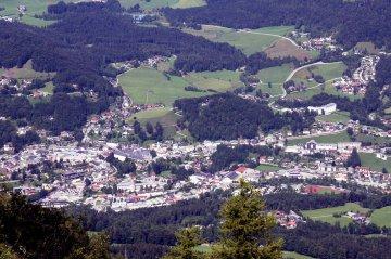Berchtesgaden vom Kehlsteinhaus gesehen