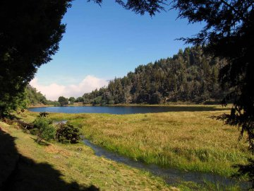 Laguna Mucubaji Venezuela