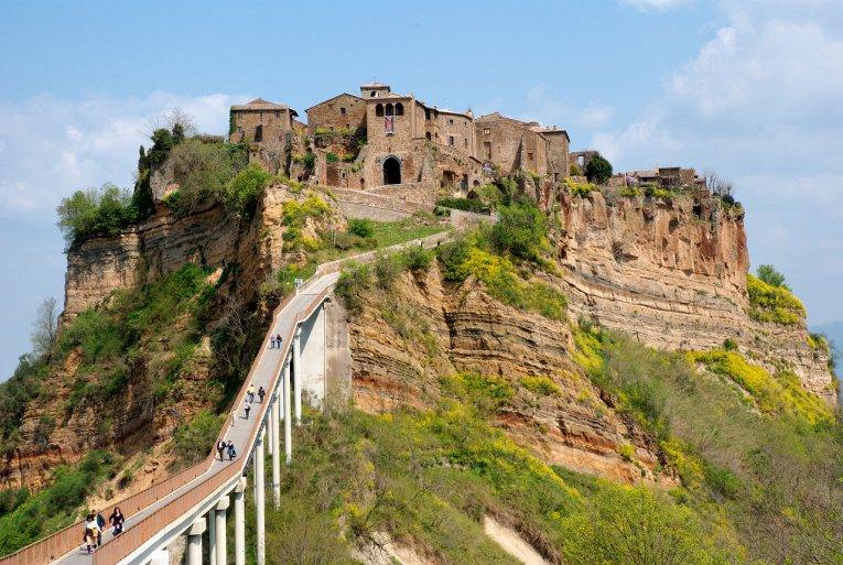 Bagnoregio, Italien