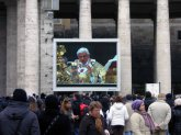 Papst Audienz Petersplatz