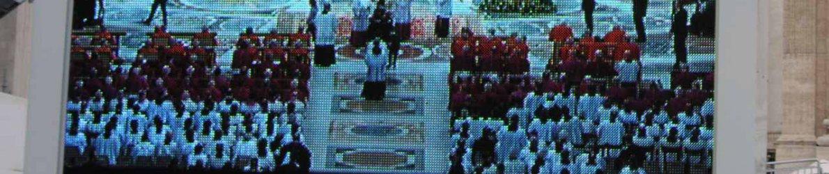 Papst Audienz Petersplatz