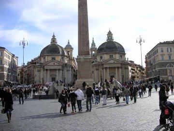 Piazza di popolo, Rom