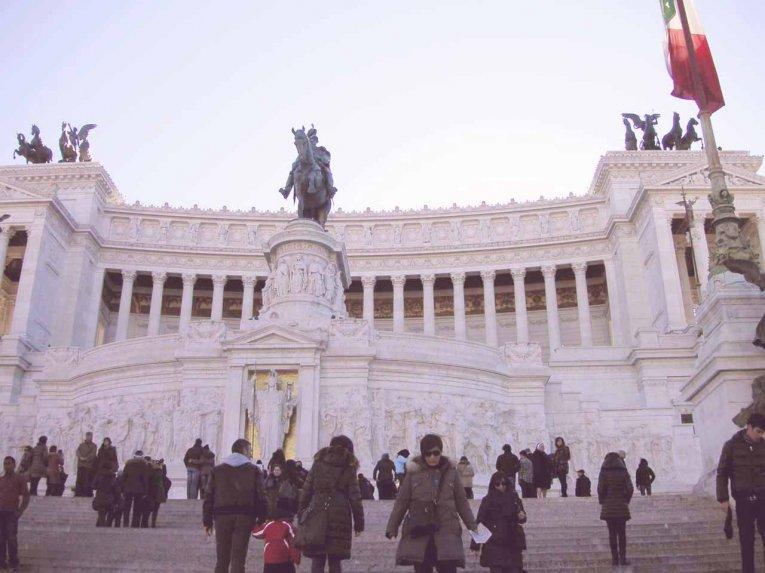 Monumento Vittorio Emanuele 2, Rom