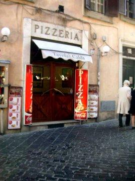 Pizzeria an der Piazza della  Rotonda